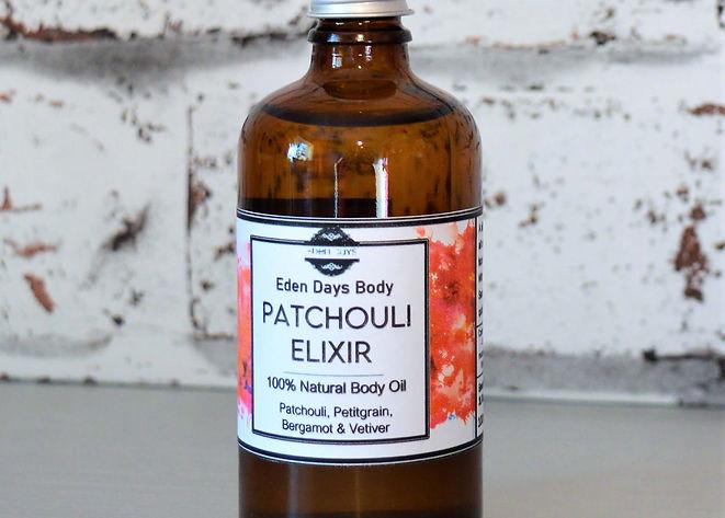 Patchouli Elixer Body Oil - Eden Days Bo