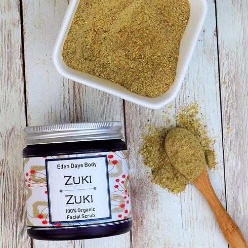 Zuki Zuki Organic Face Scrub 2 COMP.JPG