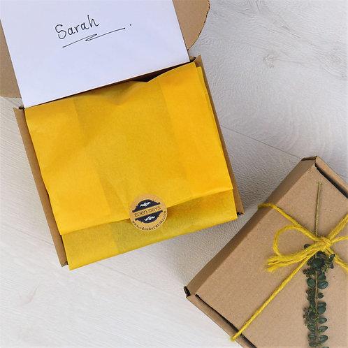 Mini Gift Sets - Natural Soap & Soap Bag boxed with Card