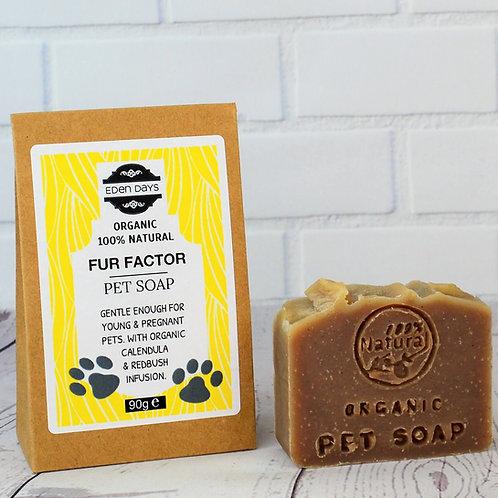 Fur Factor - Organic Pet Shampoo Bar 90g