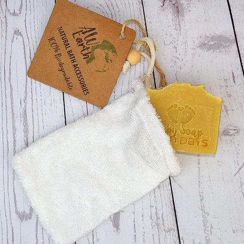 Natural Bamboo Soap Bag -Very Soft