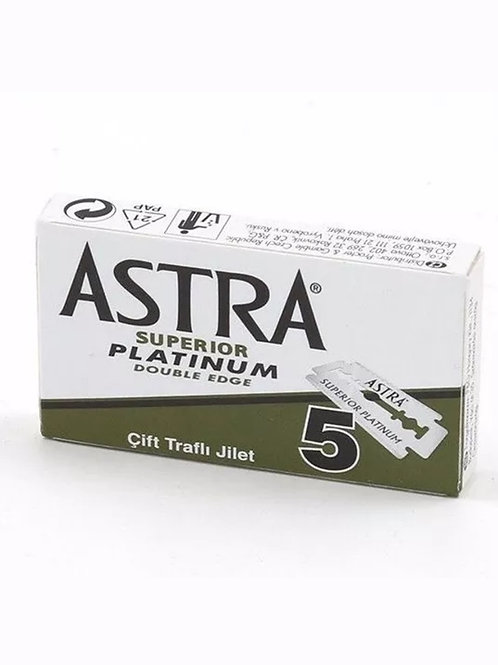 ASTRA Double Edge Replacement Blades For Safety Razors