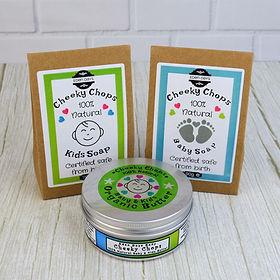 Cheeky Chops KIDS  Body Products 100% Na