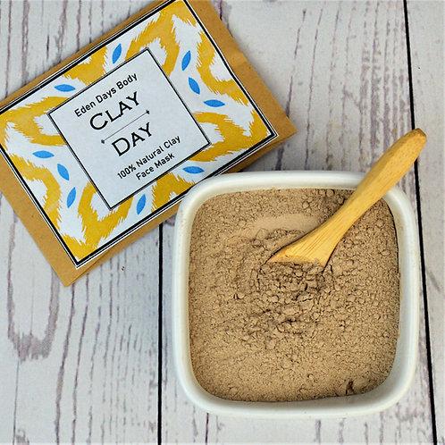 Clay Day Detox Mask - 100% Natural