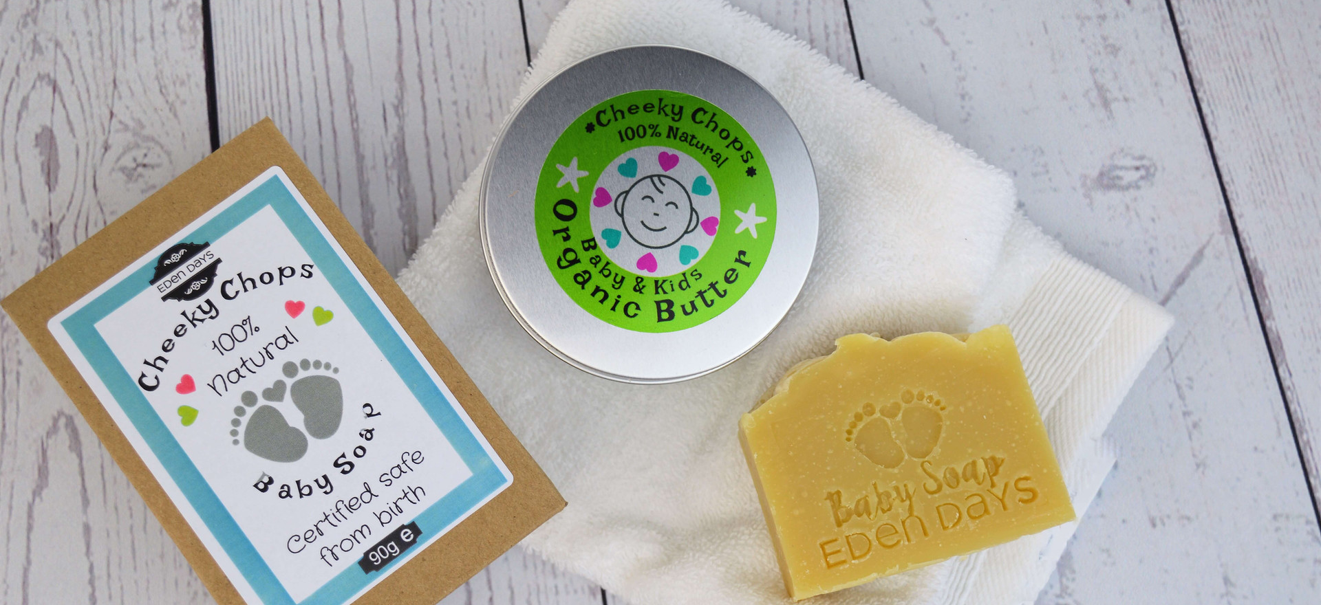 Cheeky Chops Baby Body Products