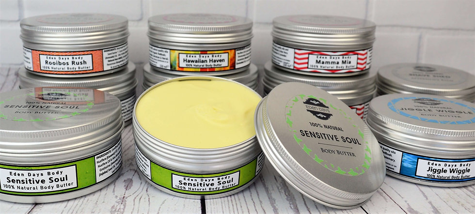 100% Natural Body Butter Sensitive Skin