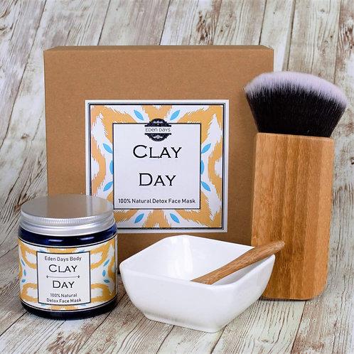 Clay Day 100% Natural Clay Mask Set