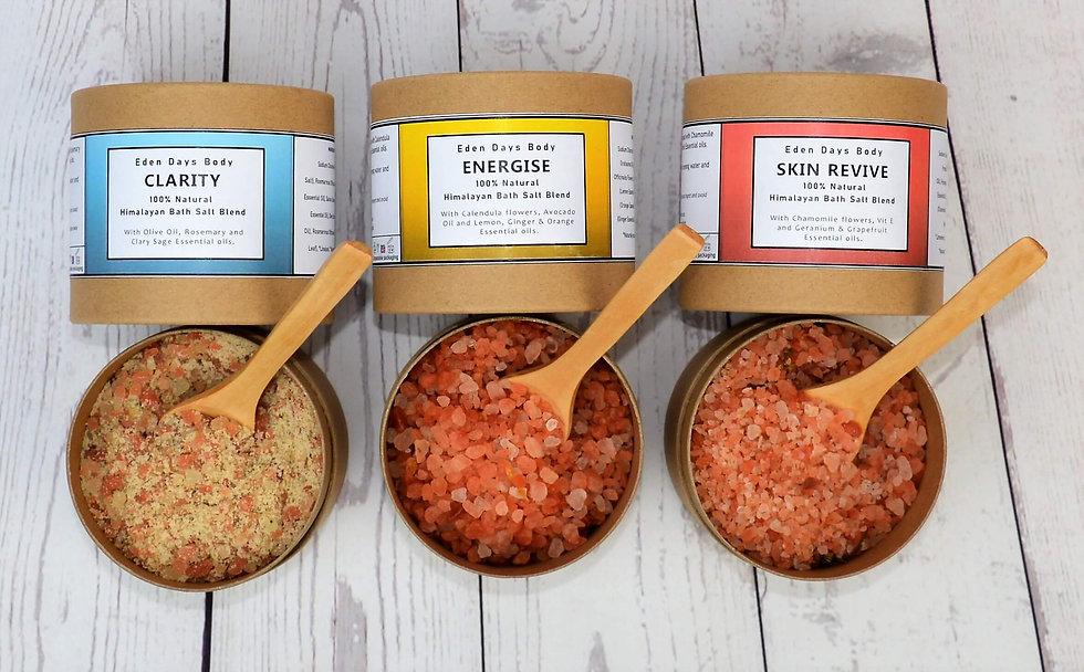 Himalayan Bath Salts Blends - with Botan