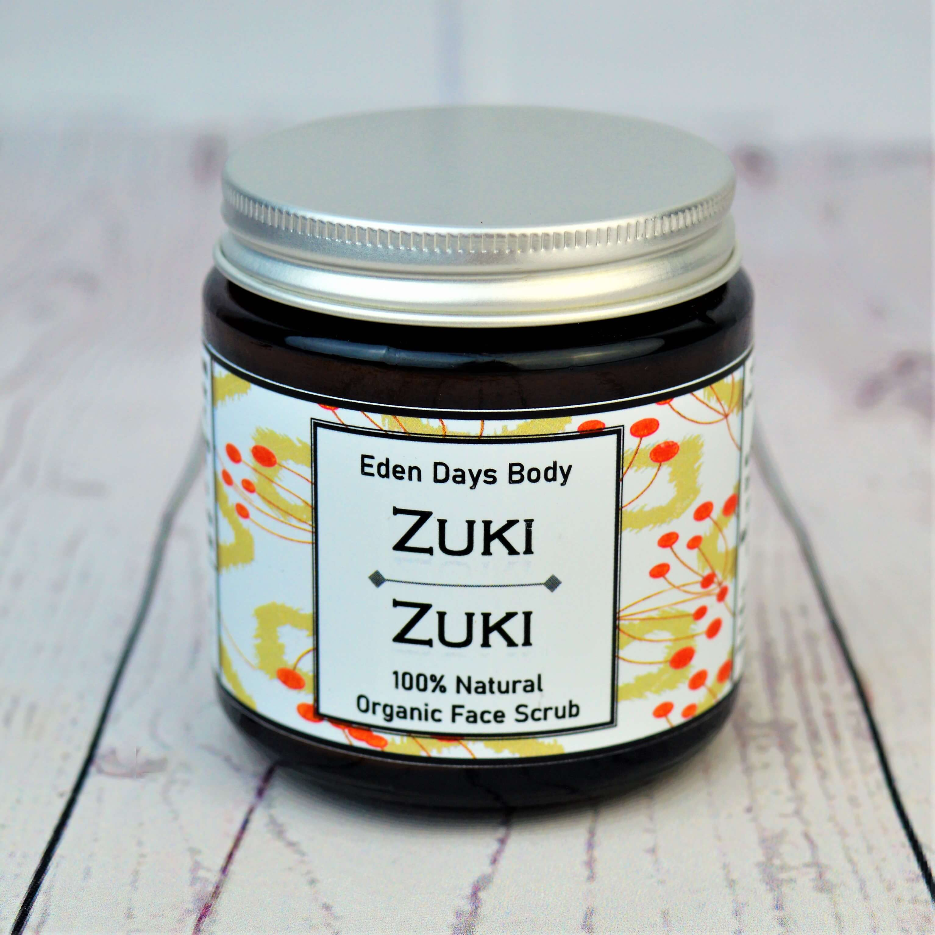 Zuki Zuki 100% Natural Organic Face Scru