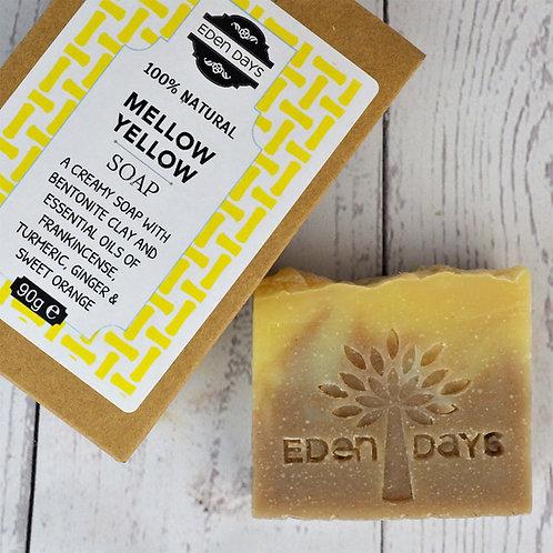 Mellow Yellow Soap - Sweet Orange, Frankincense, Ginger & Turmeric