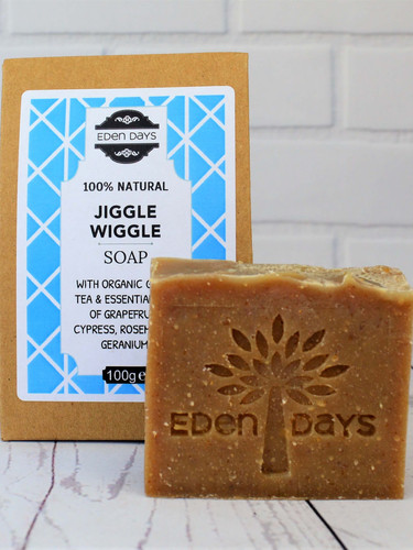 Jiggle Wiggle  100% Natural Soap with Gr