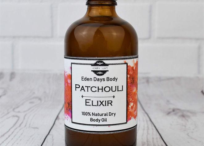 Pathouli Elixer Body Oil 100% Natural Bo