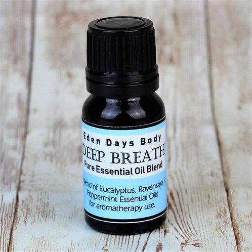 Deep Breath Essential Oil Blend  - Eucalyptus, Ravensara & Peppermint