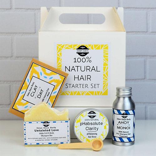 100% Natural Hair Care Starter Pack - Zero Waste