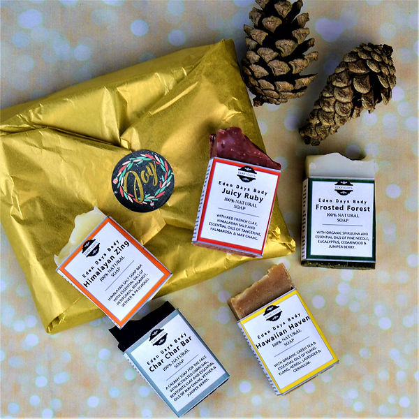100% Natural Soap Set - Best of the Soap