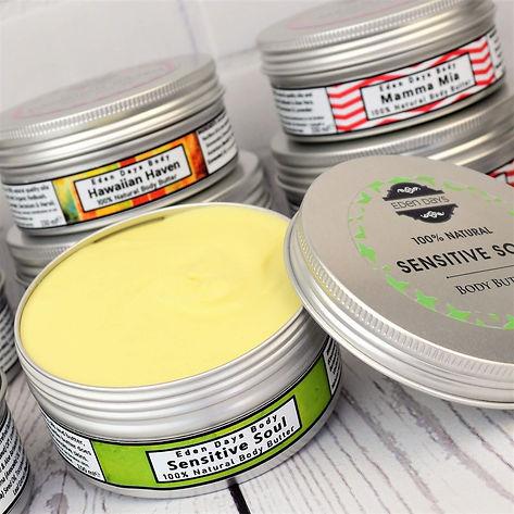 100% Natural Body Butter Sensitive Soul