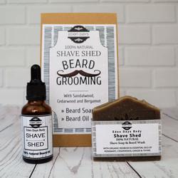 Shave Set Natural Zero Waste Beard Groom