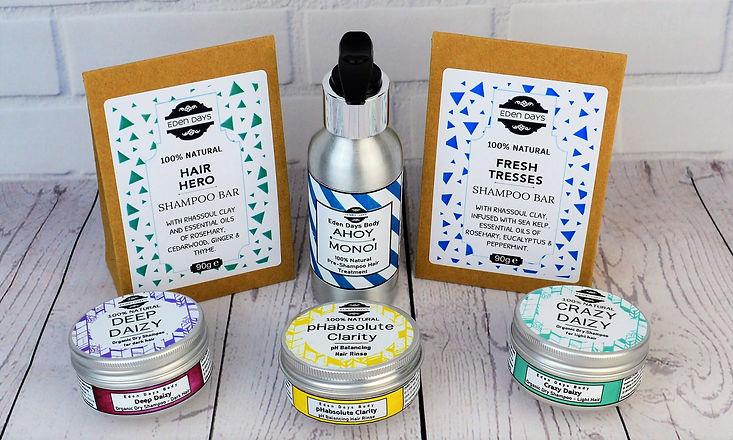 100% Natural Hair Care Zero Waste  - Ede