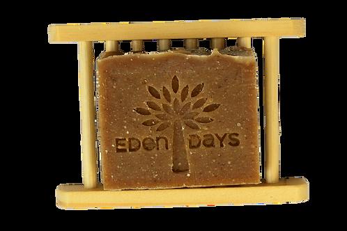Platane Wooden Soap Dish Natural