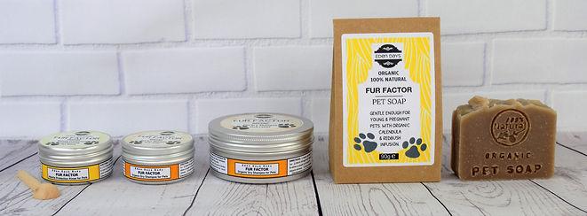 Fur Factor Organic Pet Bath Products E C
