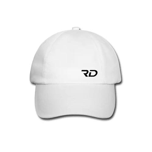 RD OFFICIAL white baseball cap