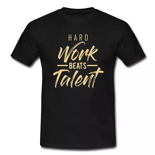 HARD WORK BEATS TALENT tee