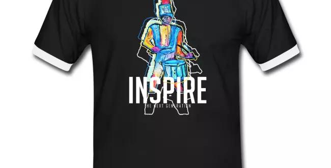 INSPIRE contrast tee