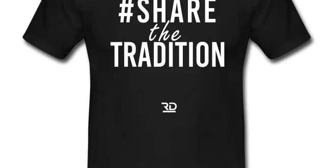 #SHARETHETRADITION tee