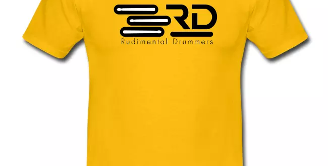 RD OFFICIAL yellow tee