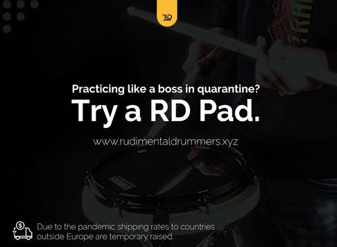 Practicing like a boss in quarantine?