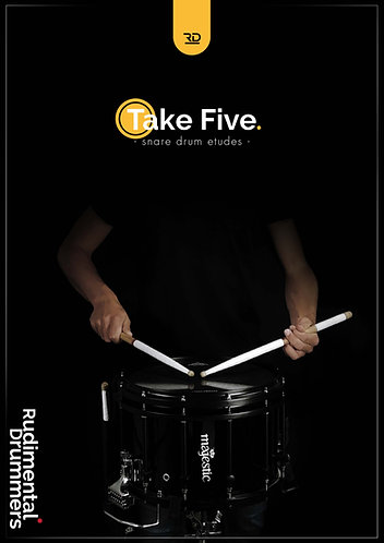 Take Five - snare drum etude