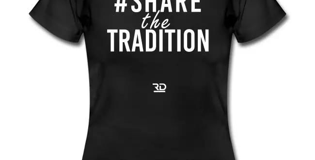 #SHARETHETRADITION women tee
