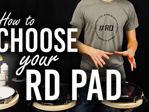 How to choose your RD Pad