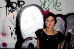 Girl with Grafitti