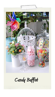 Candy Buffet Rental and Services