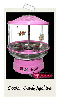 Cotton Candy Floss Machine Rental