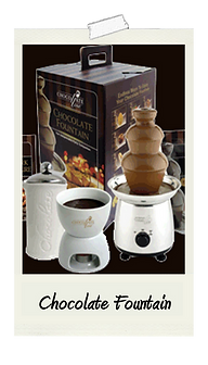 Chocolate Fondue Fountain Rental