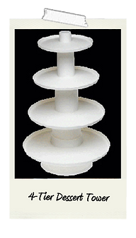 4-Tier Dessert Tower Rental