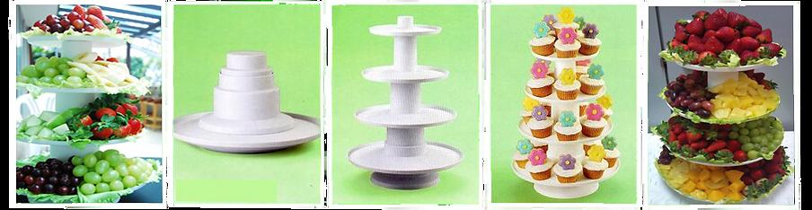4-Tier Dessert Tower Rental