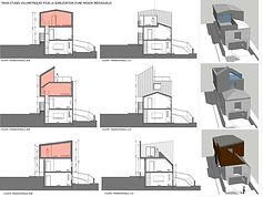 Surelevation d'une maison individuelle à Malakoff