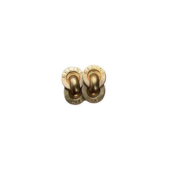 CÉLINE GOLD EARRINGS