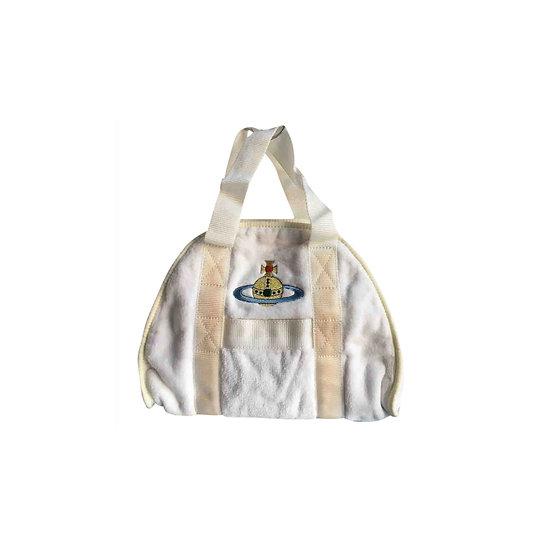 VIVIENNE WESTWOOD CLOTH BEACH BAG