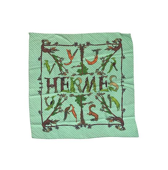 HERMÈS LOGO SCARF