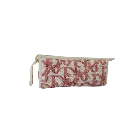 CHRISTIAN DIOR 90s PINK TROTTER MAKE UP POUCH