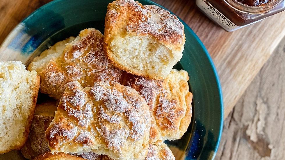 Dozen Homemade Buttermilk Biscuits