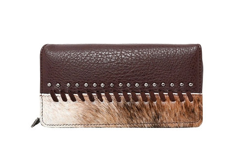 MONTANA WEST HAIR ON MATCHING WALLET 6 COLORS #647