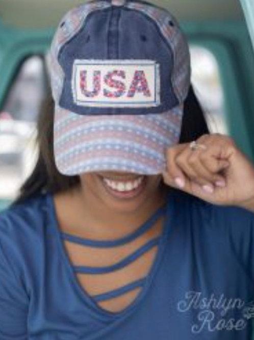DENIM USA BASEBALL TRUCKER CAP HAT #765