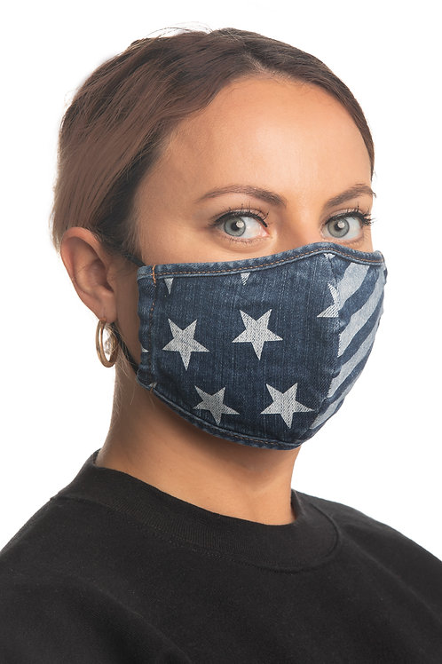 MISS ME BRAND FACE MASKS WITH POCKET FOR DISPOSABLE FILTERS #062