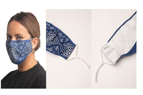 MISS ME BRAND FACE MASKS WITH 2 DISPOSABLE FILTERS #136