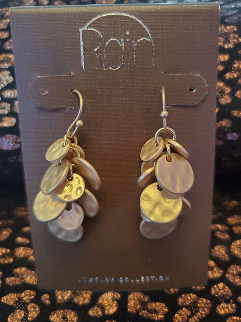 RAIN JEWELRY BUNCH OF CIRCLES DROP EARRINGS #367